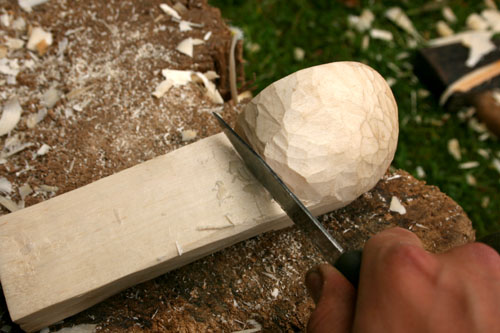 Carving a Kuksa Cup tutorial- jonsbushcraft com