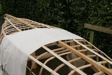 skin on frame canoe sof build along
