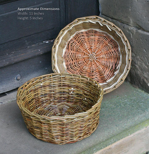 Gathering Basket Making Materials : Weaving a wicker basket the most comprehensive